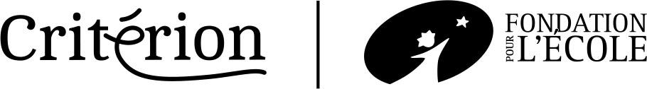 Logos Critérion et La fondation pour l'école